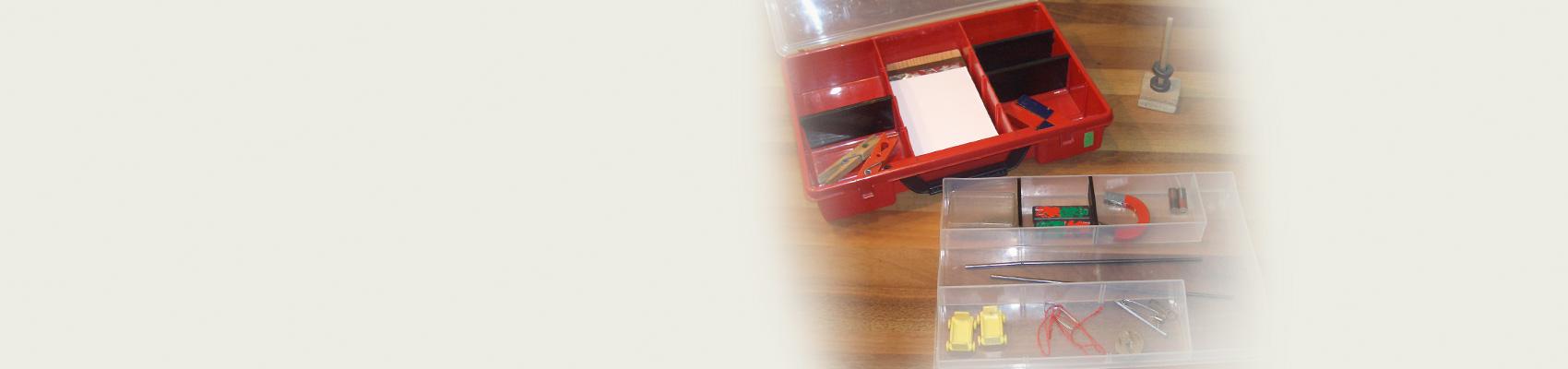 Magnetismus – Experimentierkasten mit Versuchskartei